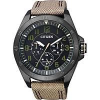 montre multifonction homme Citizen Eco-Drive BU2035-05E