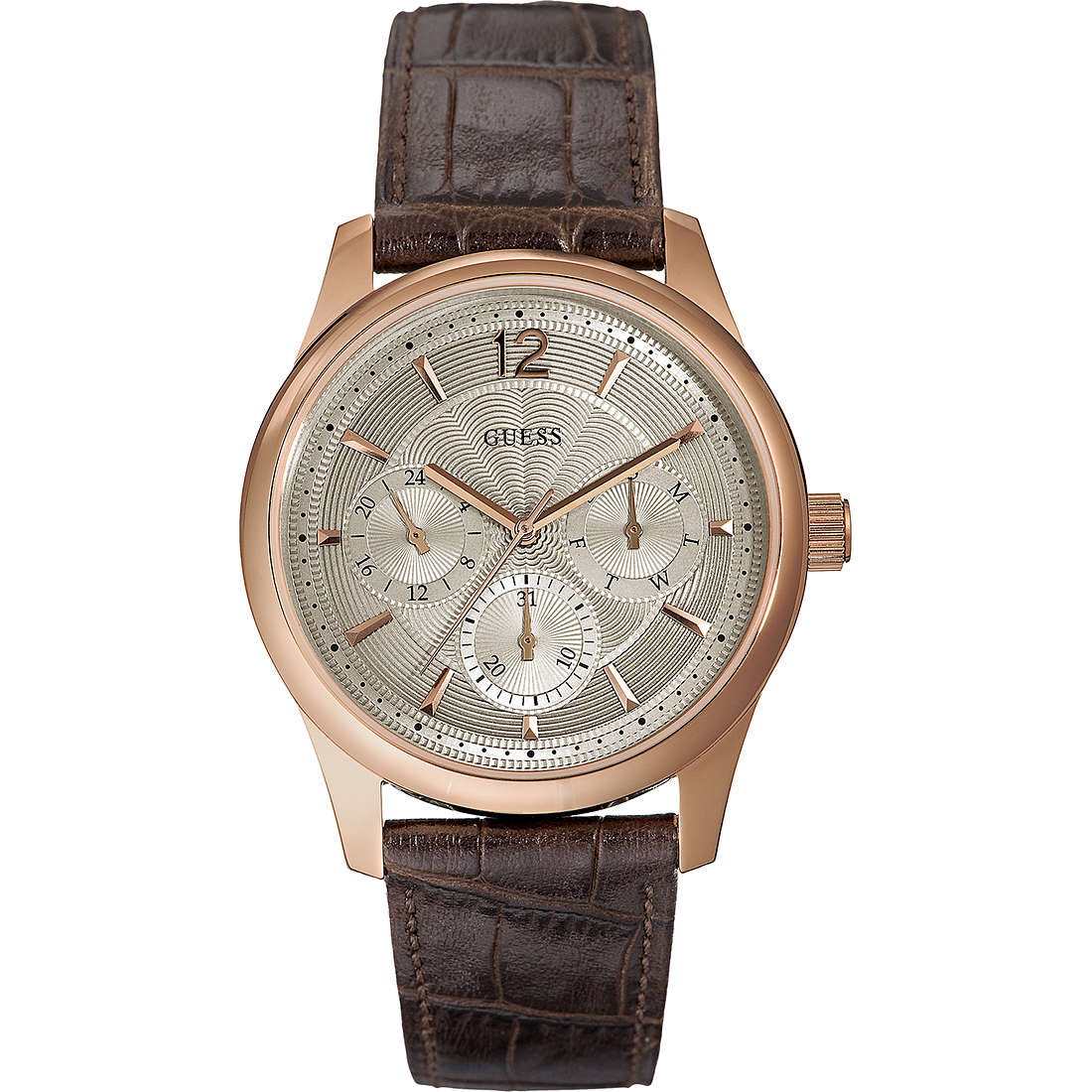montre multifonction homme Guess Asset W0475G2