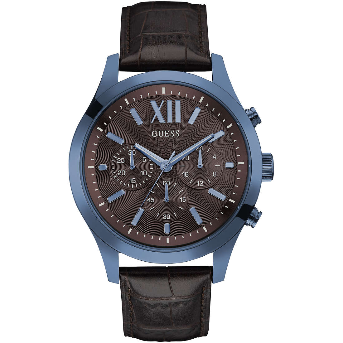 montre multifonction homme Guess Elevation W0789G2