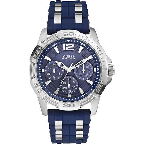 montre multifonction homme Guess Oasis W0366G2