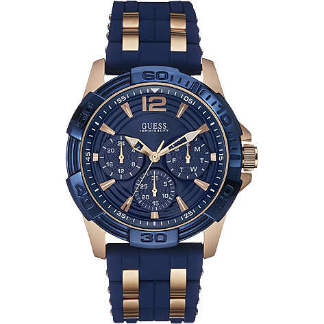 montre multifonction homme Guess Oasis W0366G4