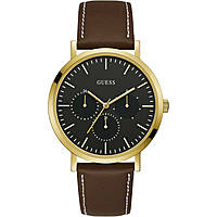 montre multifonction homme Guess Slate W1044G1