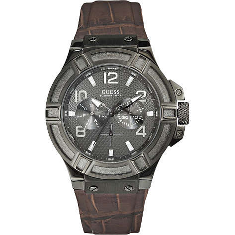montre multifonction homme Guess W0040G2