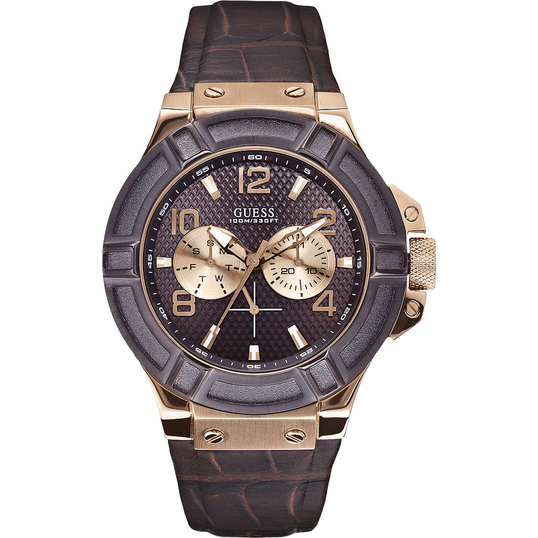 montre multifonction homme Guess W0040G3