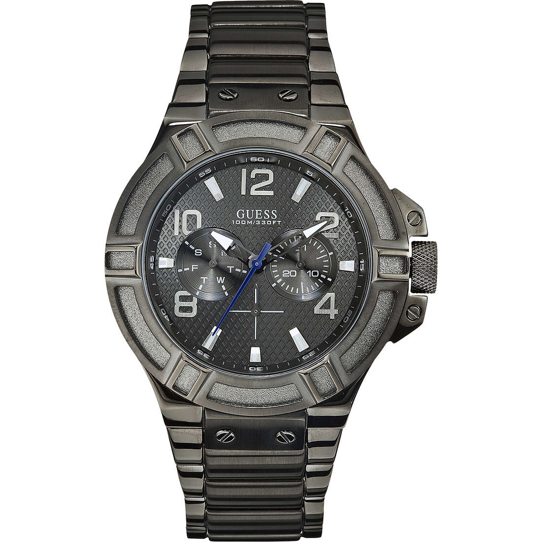 montre multifonction homme Guess W0041G1