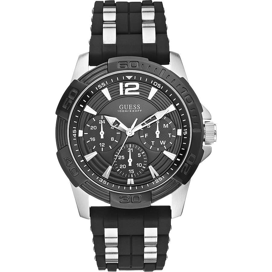 montre multifonction homme Guess W0366G1