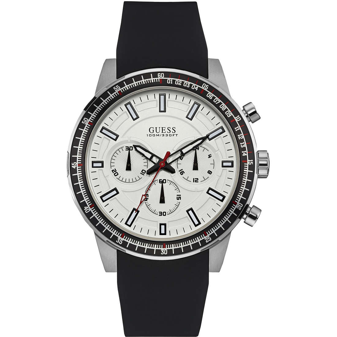 montre multifonction homme Guess W0802G1