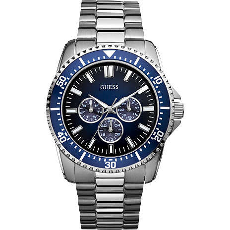 montre multifonction homme Guess W10245G1