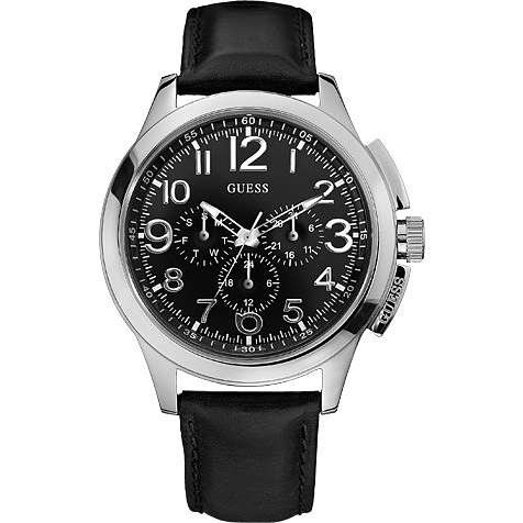 montre multifonction homme Guess W10562G3