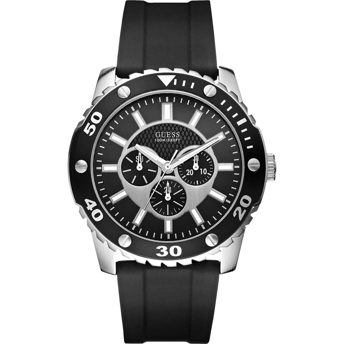 montre multifonction homme Guess W10616G1