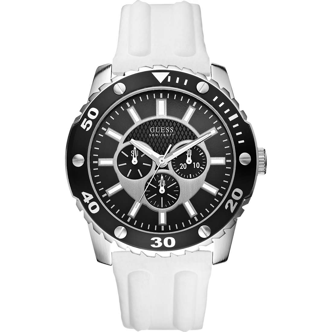 montre multifonction homme Guess W10616G2
