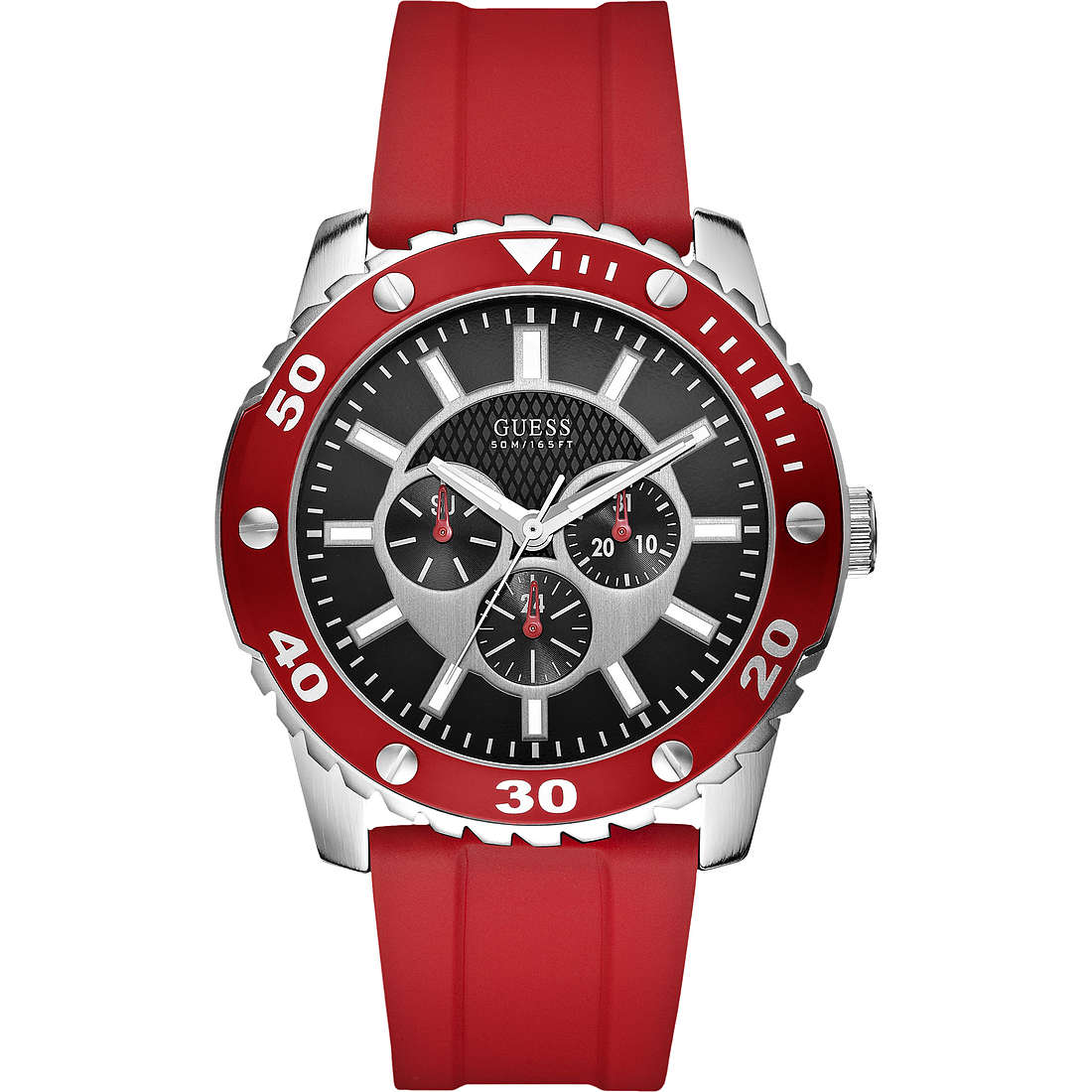 montre multifonction homme Guess W10616G4