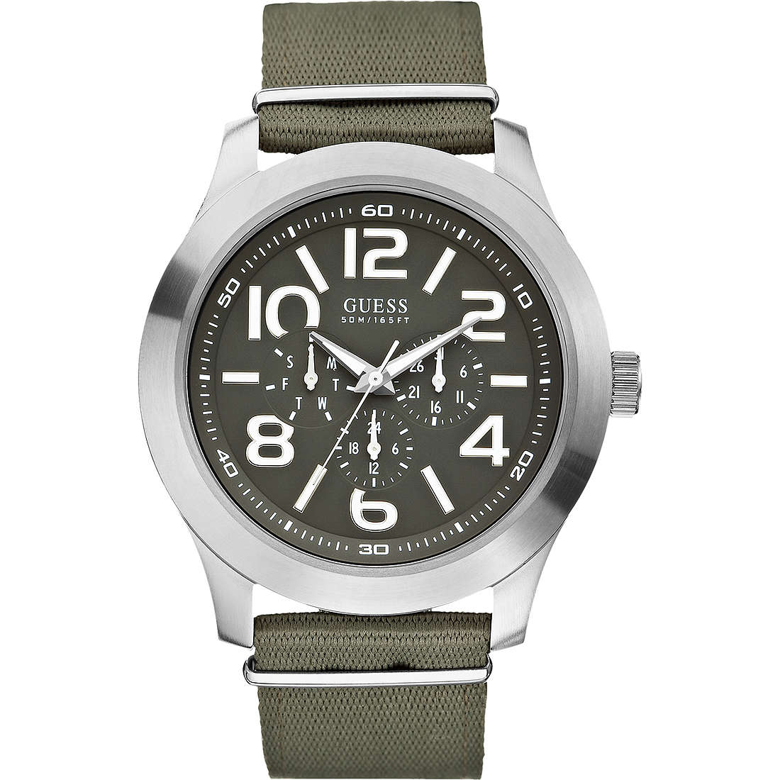 montre multifonction homme Guess W10617G1
