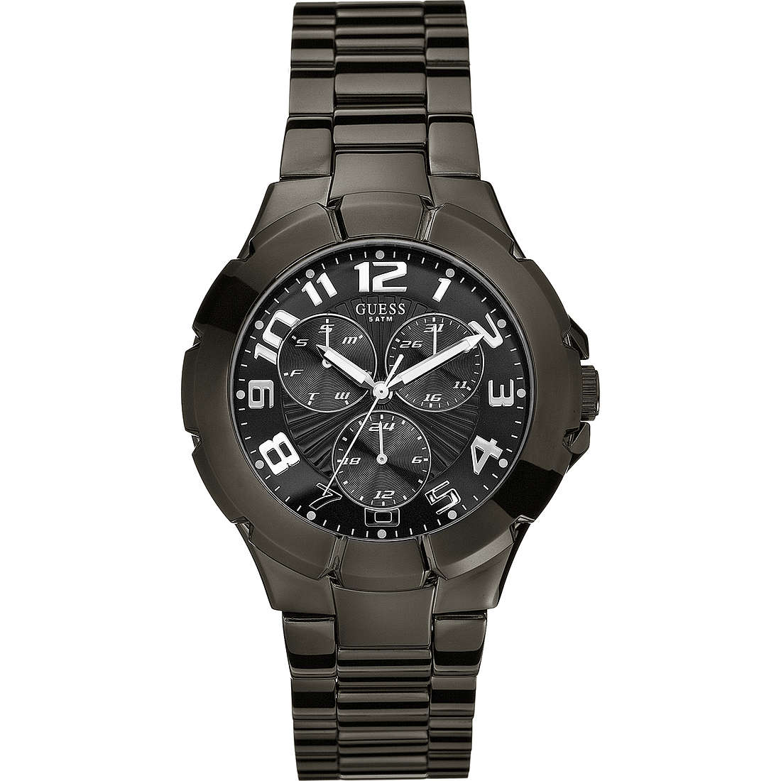montre multifonction homme Guess W11010G1