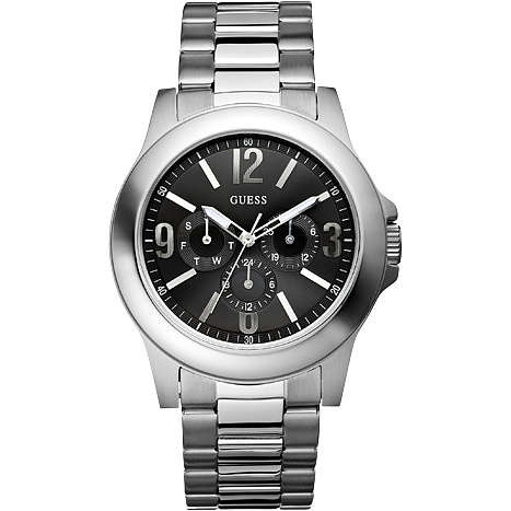 montre multifonction homme Guess W11152G1