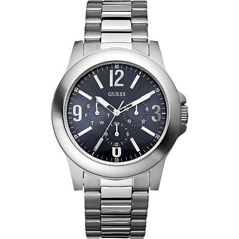 montre multifonction homme Guess W11152G3