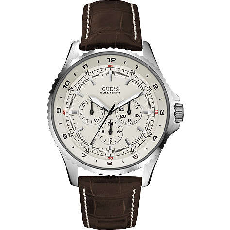 montre multifonction homme Guess W11172G4