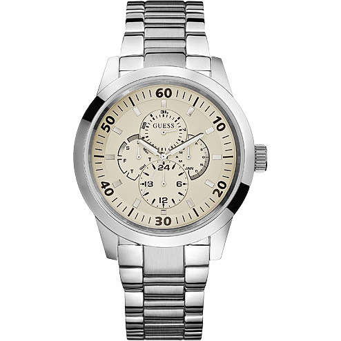 montre multifonction homme Guess W11562G1