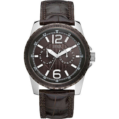 montre multifonction homme Guess W11596G1