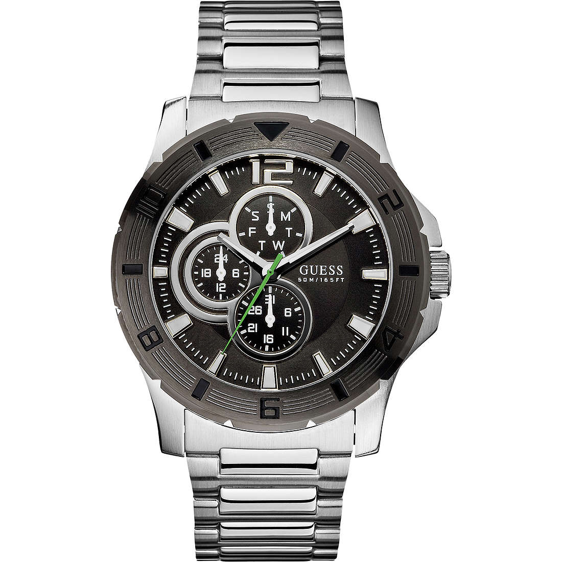 montre multifonction homme Guess W11617G1