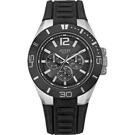 montre multifonction homme Guess W12597G1
