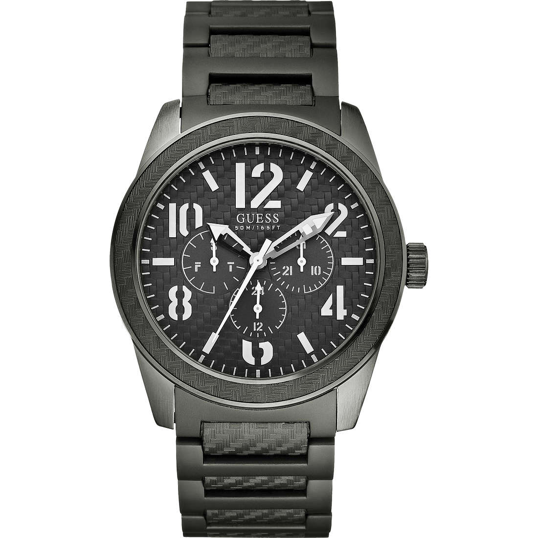 montre multifonction homme Guess W15073G2