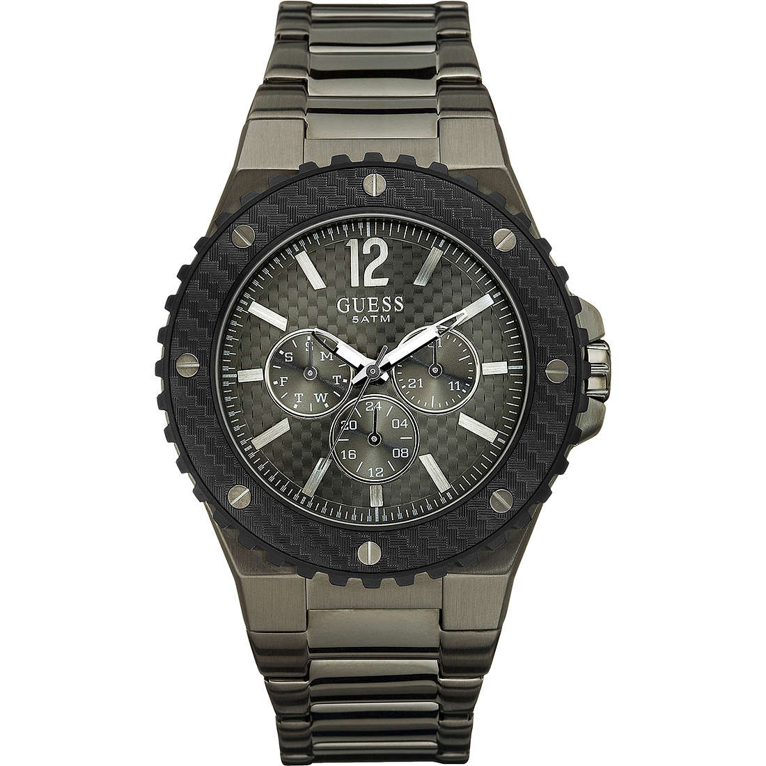montre multifonction homme Guess W17538G1
