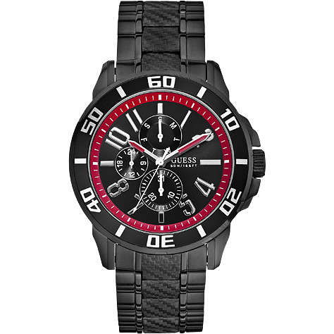 montre multifonction homme Guess W18550G1