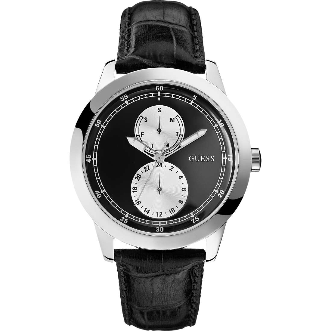 montre multifonction homme Guess W75065G1
