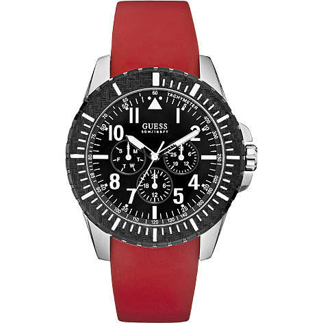 montre multifonction homme Guess W90077G1