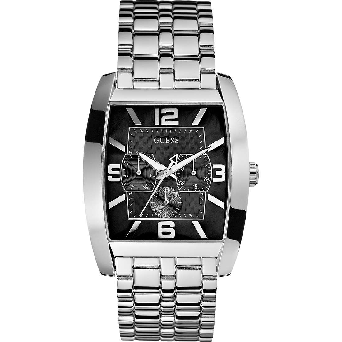 montre multifonction homme Guess W95015G1