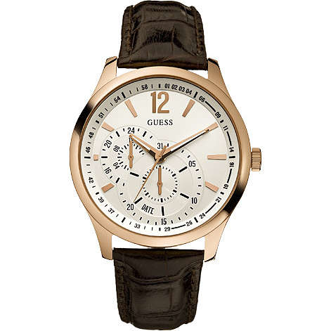 montre multifonction homme Guess W95086G2