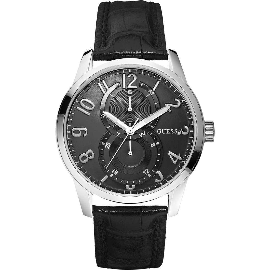 montre multifonction homme Guess W95127G1