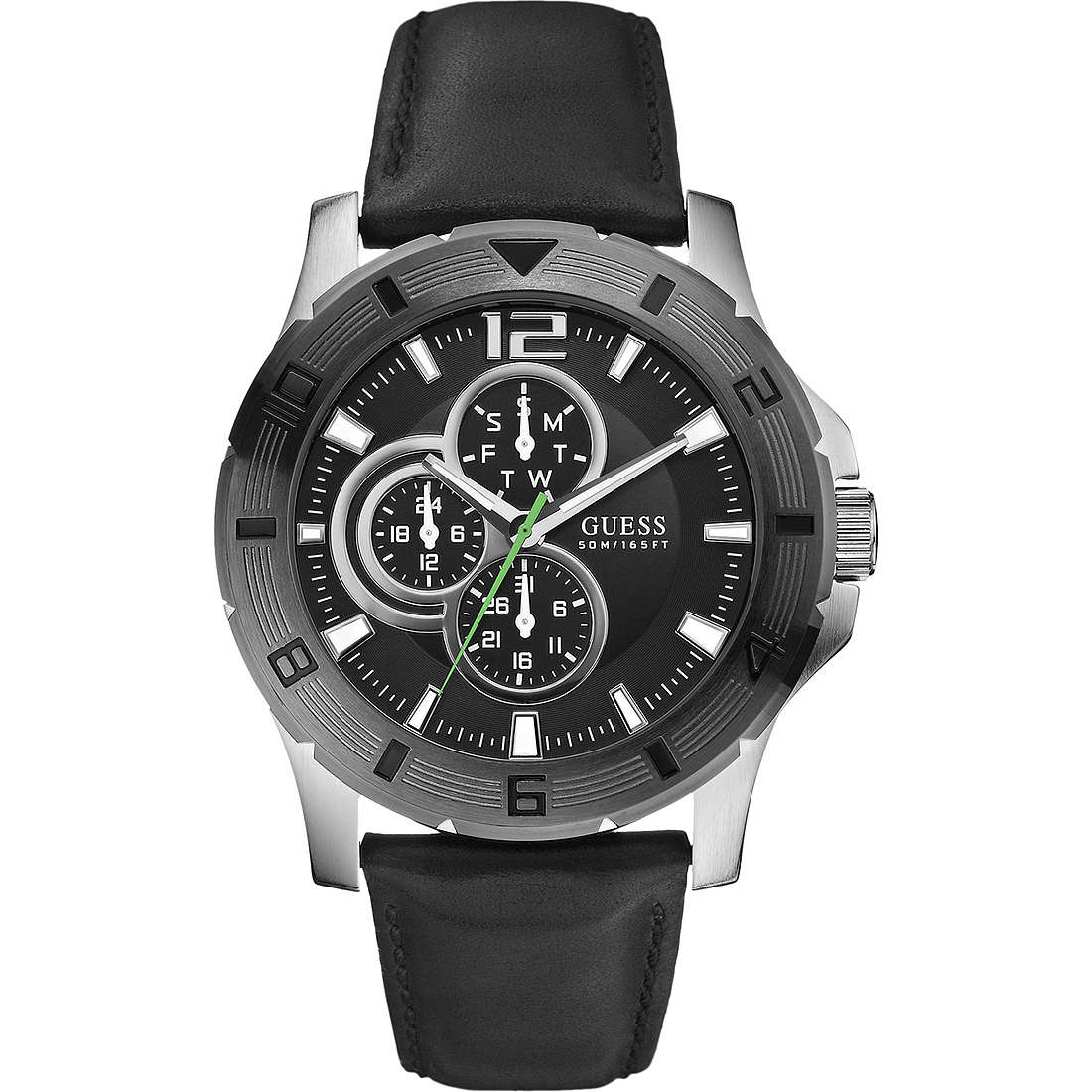 montre multifonction homme Guess W95136G1
