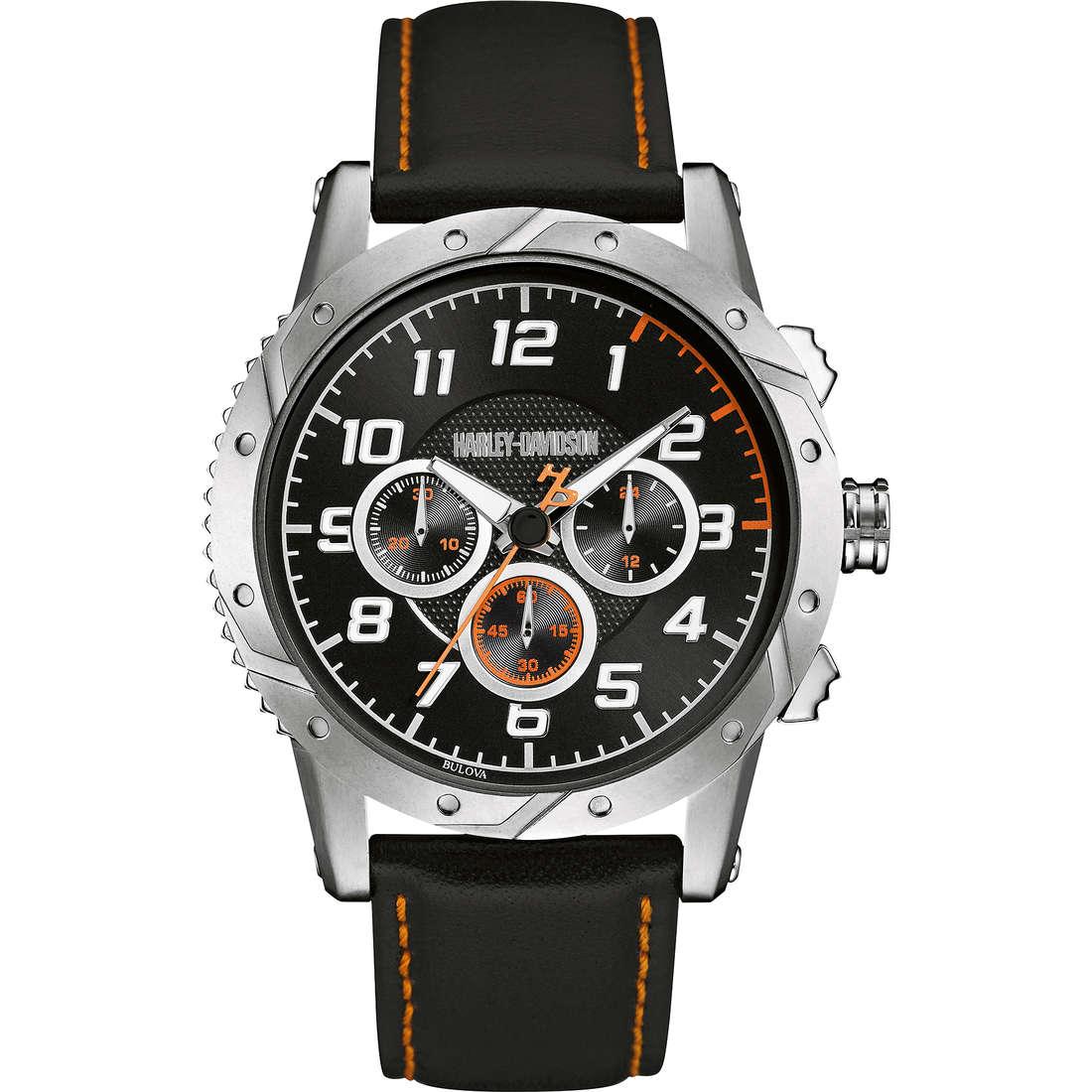 montre multifonction homme Harley Davidson 76B171