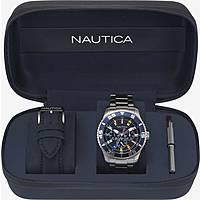 montre multifonction homme Nautica White Cap NAPWHC001