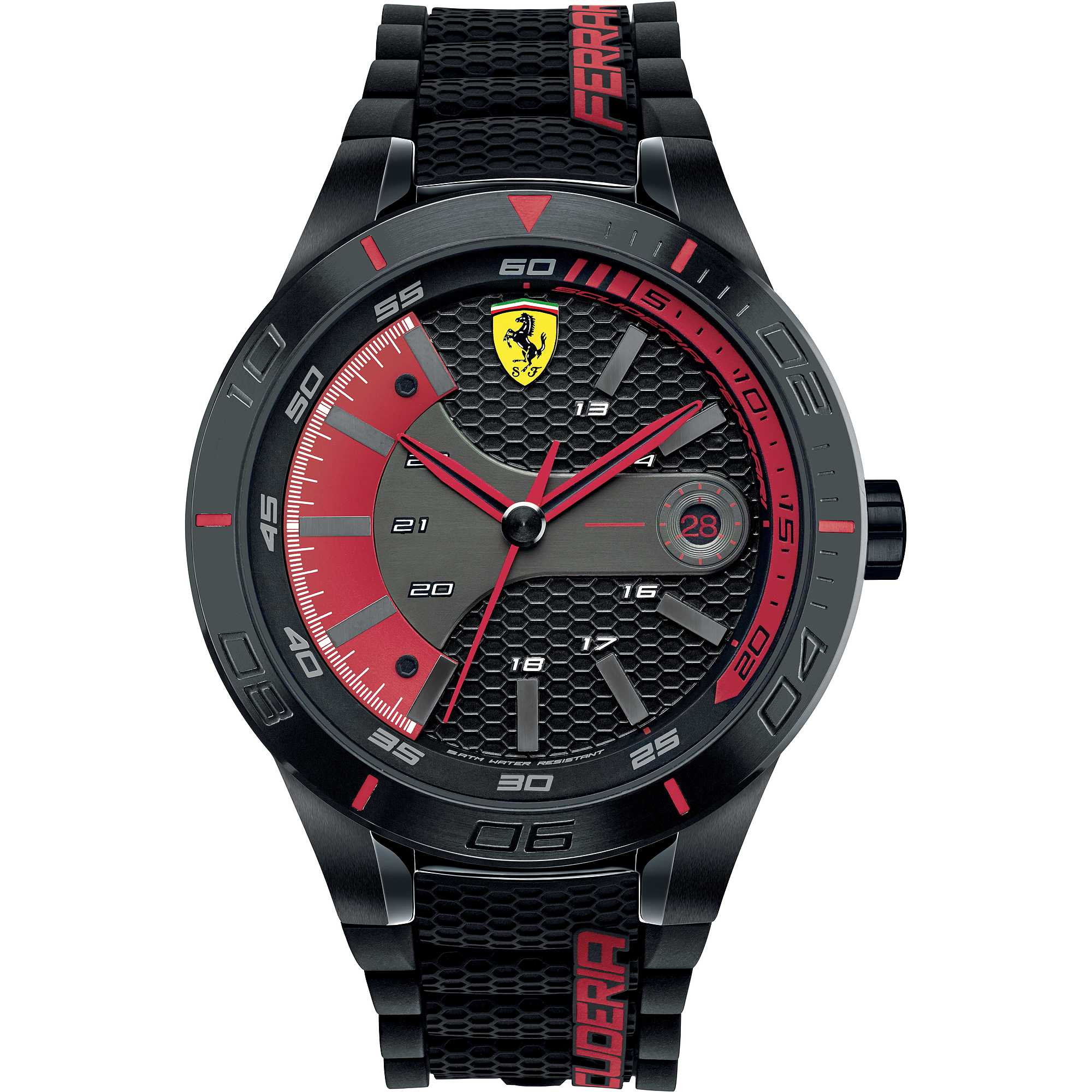 montre multifonction homme scuderia ferrari red fer0830265 seul le temps scuderia ferrari. Black Bedroom Furniture Sets. Home Design Ideas