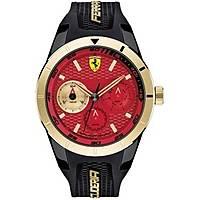 montre multifonction homme Scuderia Ferrari Redrev FER0830386