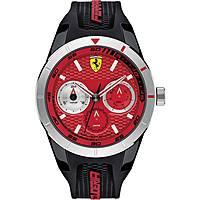 montre multifonction homme Scuderia Ferrari Redrev FER0830437