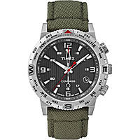 montre multifonction homme Timex Iq Compass T2P286