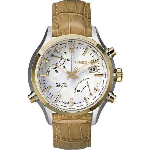 montre multifonction homme Timex Iq World Time TW2P87900