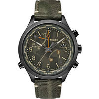 montre multifonction homme Timex Iq World Time TW2R43200