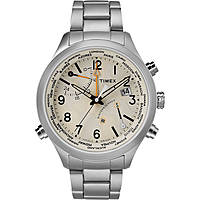 montre multifonction homme Timex Iq World Time TW2R43400