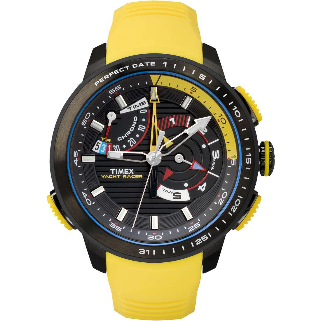 montre multifonction homme Timex Iq Yatch Racer TW2P44500