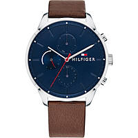 montre multifonction homme Tommy Hilfiger Chase THW1791487