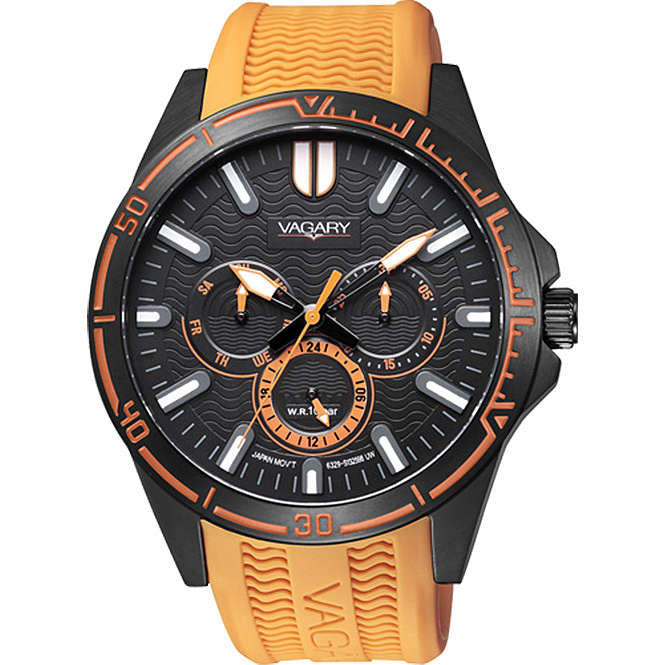 montre multifonction unisex Vagary By Citizen VH0-643-50