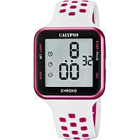 montre numérique femme Calypso Color Run K5748/1