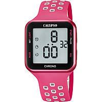 montre numérique femme Calypso Color Run K5748/2