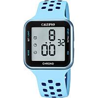 montre numérique femme Calypso Color Run K5748/3