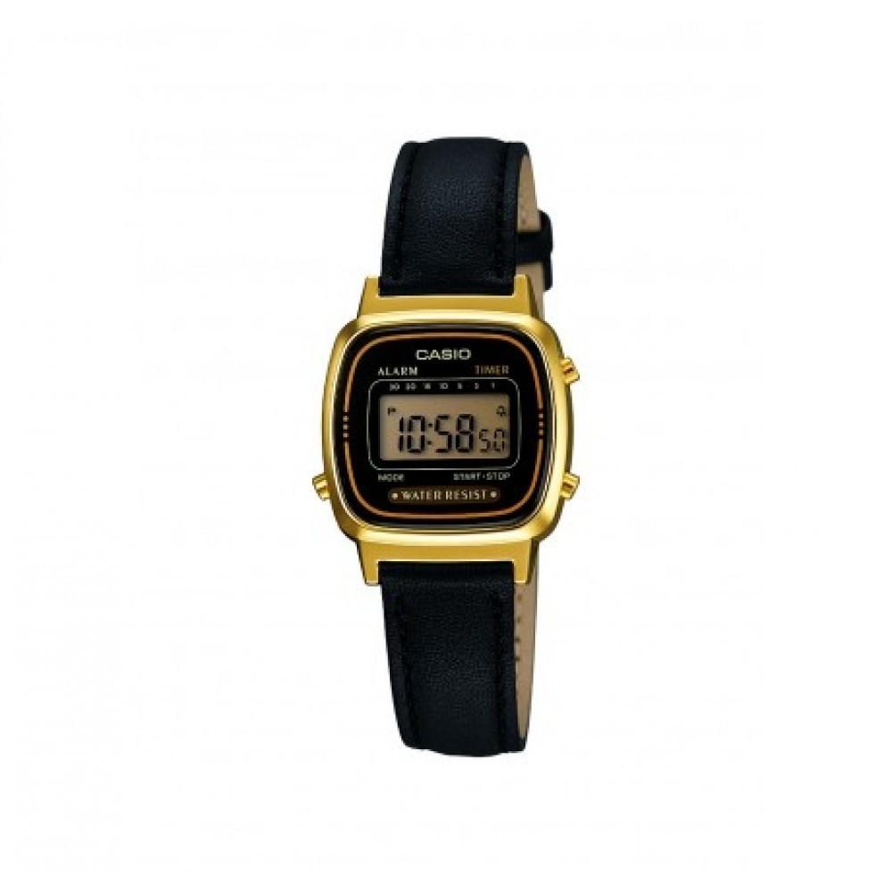 montre numérique femme Casio Casio Vintage LA670WEGL-1EF